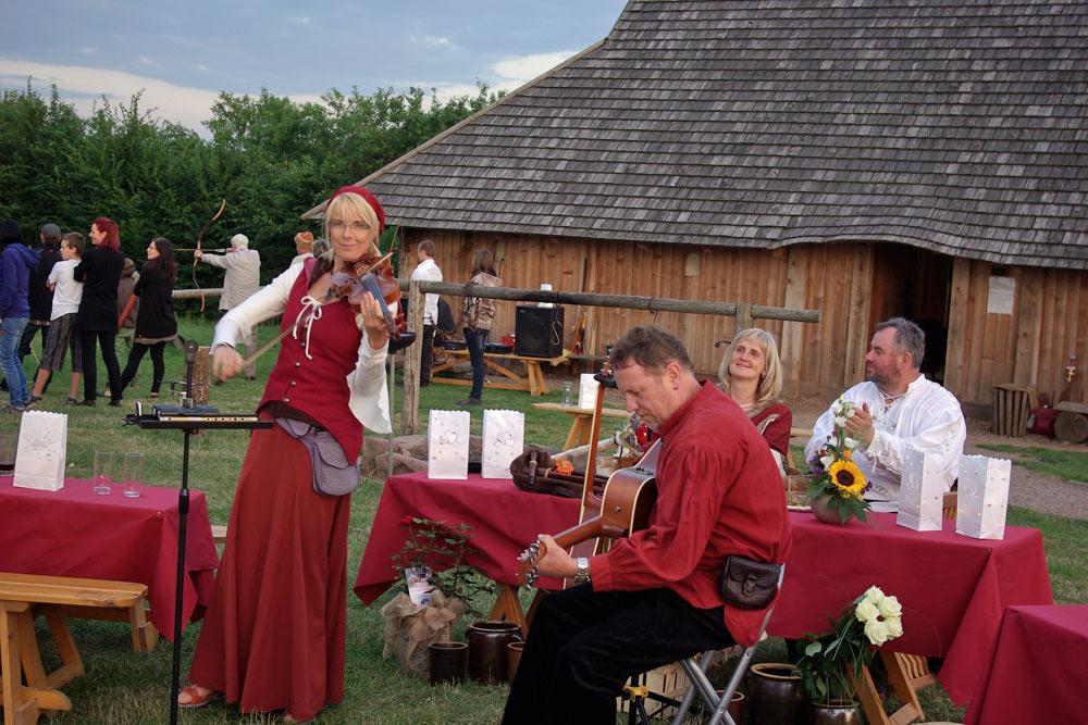 Goldene Aue - Veranstaltung in der Königspfalz Tilleda