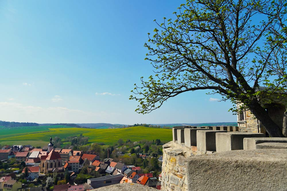 Mansfeld - Blick von Schloss Mansfeld