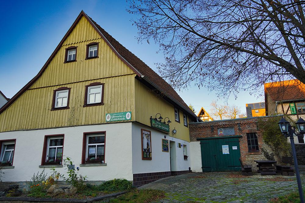 Südharz-Hainrode-Schauwerkstätten in der Alten Schmiede Hainrode