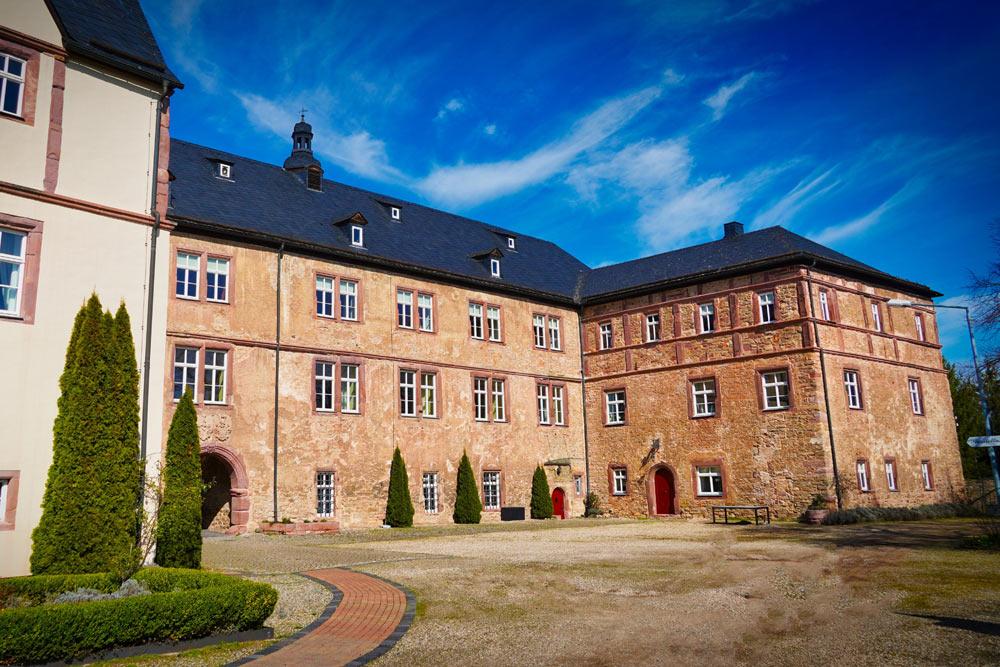 Kaiser Otto Höhenweg Wallhausen Schloss