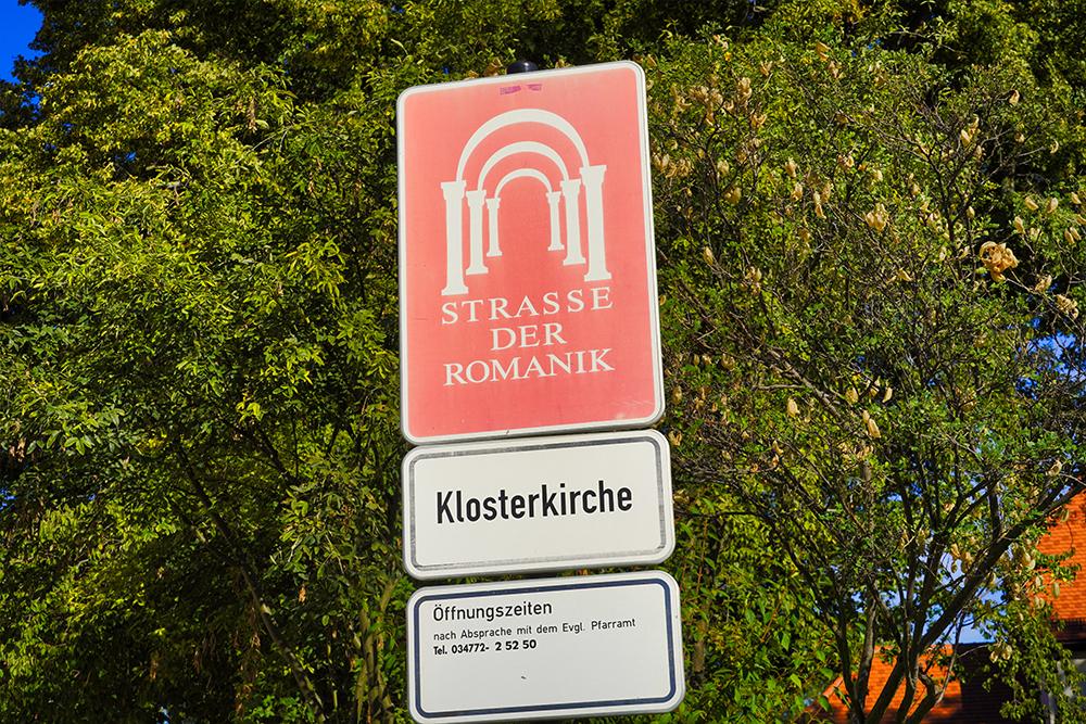 Klostermansfeld - Klosterkirche St. Marien - Straße der Romanik