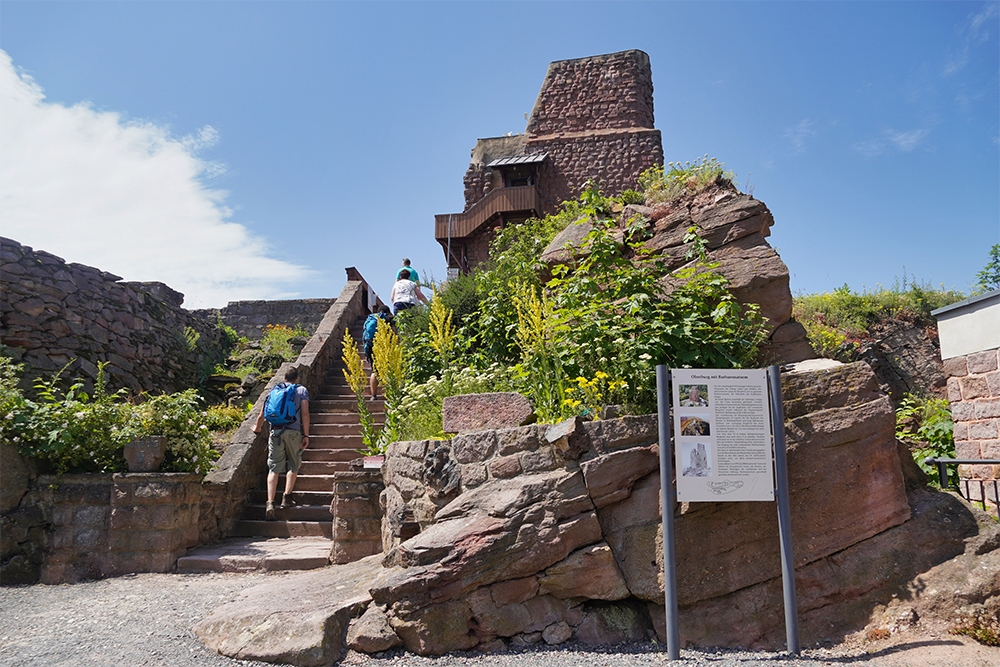 Kyffhäuser-Denkmal - Barbarossaturm - Ausflugsziel Reiseregion Kelbra-Goldene Aue