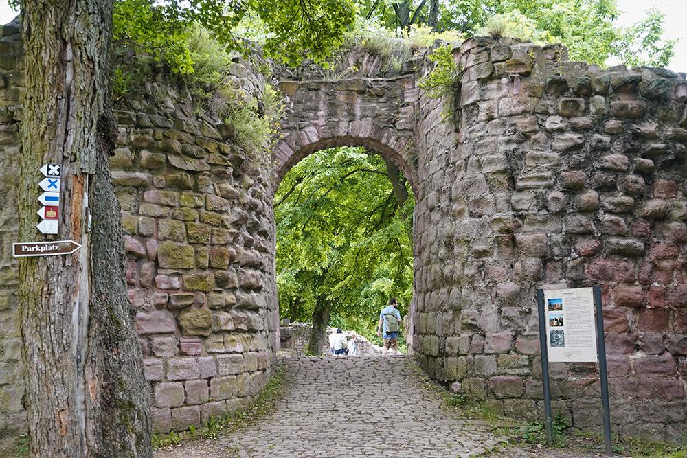 Kyffhäuser-Denkmal - Unterburg - Ausflugsziel Reiseregion Kelbra-Goldene Aue