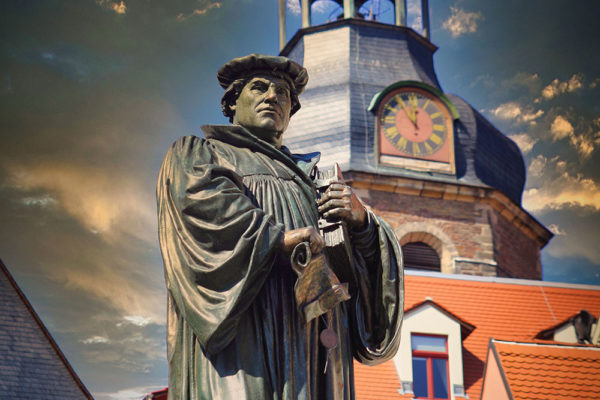 Lutherstadt Eisleben - Lutherdenkmal