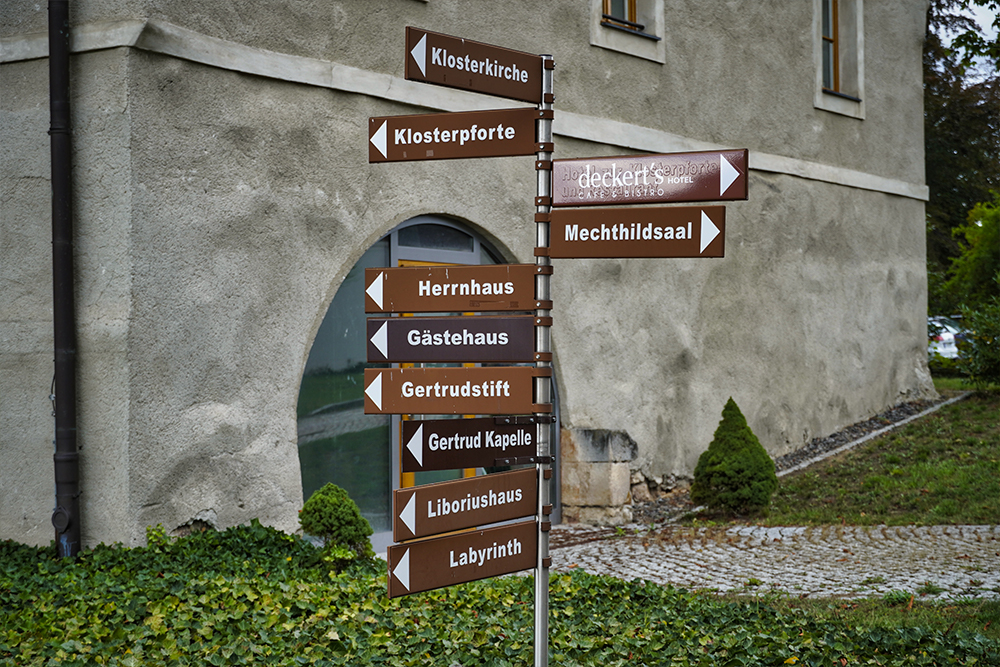Lutherstadt Eisleben - Kloster Helfta - Wegweiser