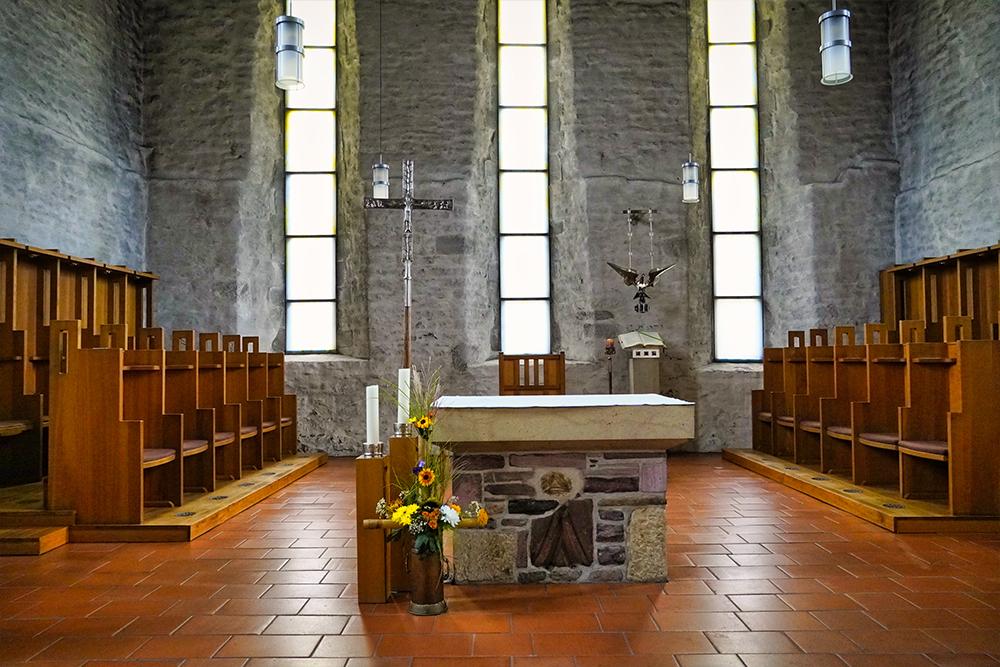 Lutherstadt Eisleben - Kloster Helfta - Innenraum Kirche