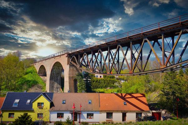 Lutherweg Mansfeld-Südharz - Mansfeld Viadukt