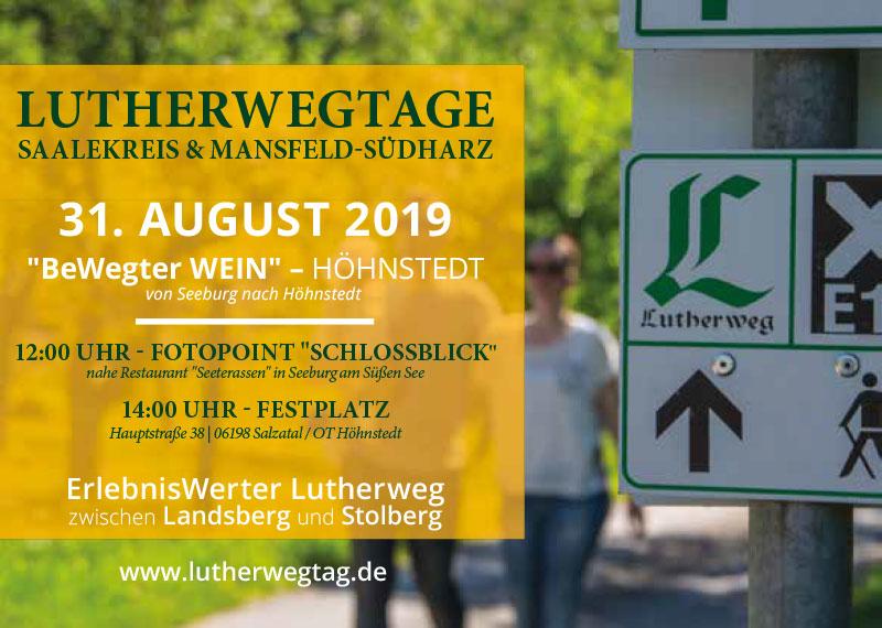 Lutherwegtage - Weinstraße