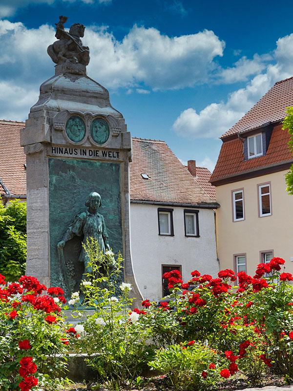 Mansfeld - Lutherbrunnen