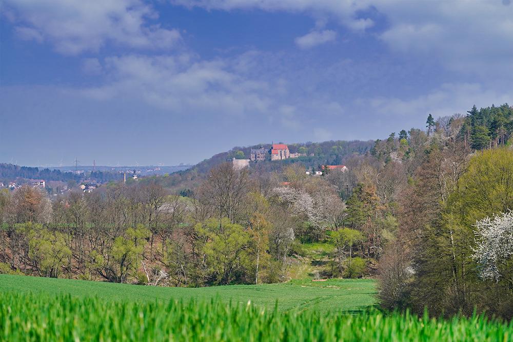Mansfeld - Festungsanlage Schloss Mansfeld