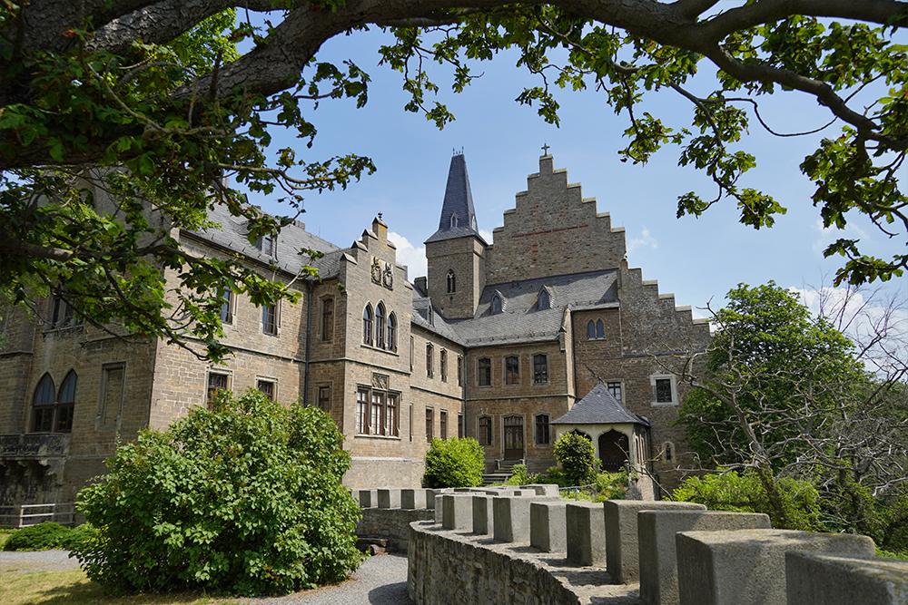 Mansfeld - Jugendbegegnungsstätte Schloss Mansfeld