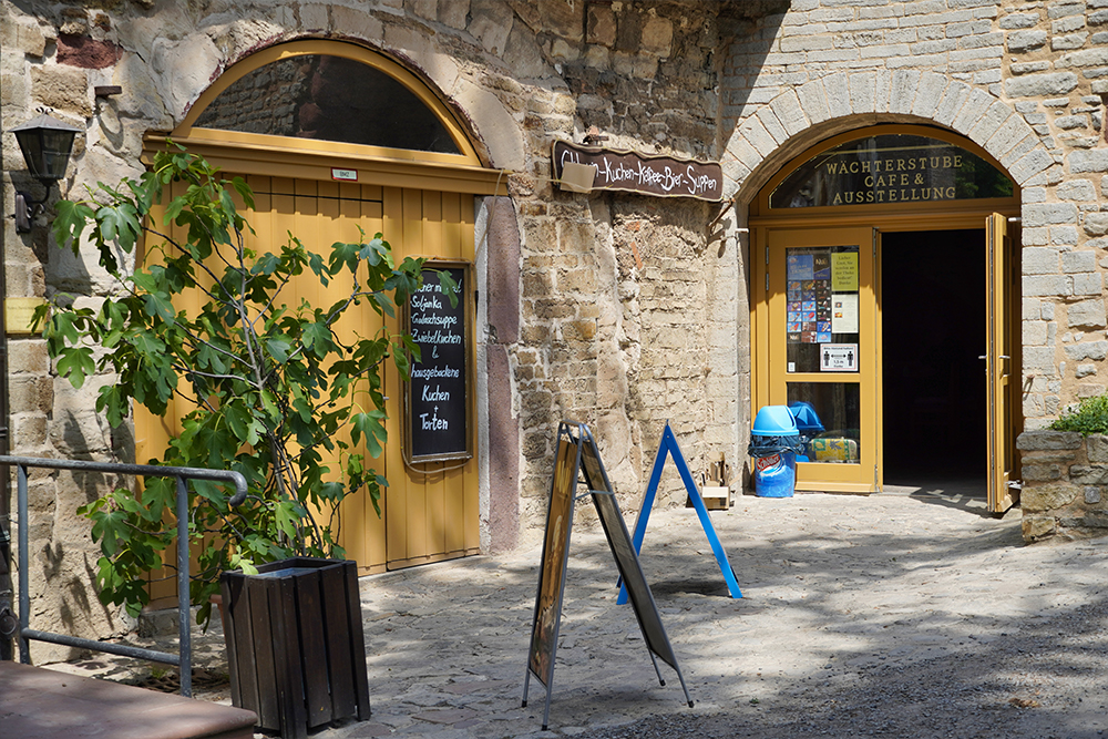 Mansfeld - Schloss Mansfeld - Café Wächterstube