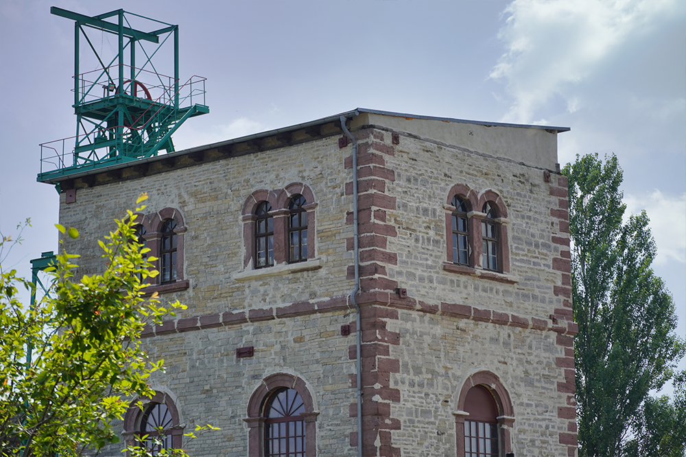 Mansfeld - Schmid Schacht Helbra - Erlebniswelt Kupfer