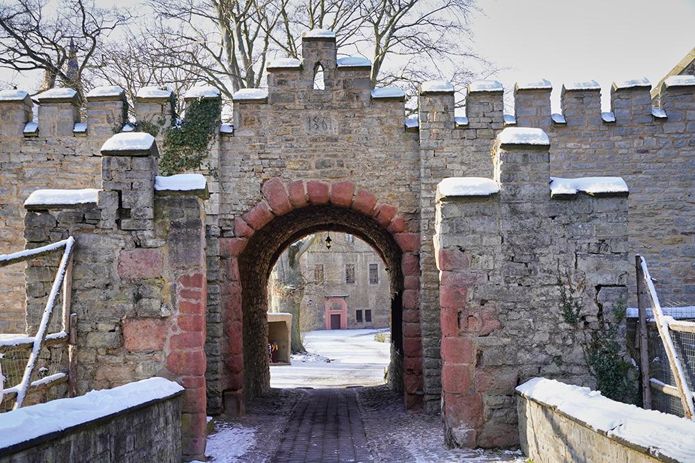 Mansfeld - Tor Schloss Mansfeld