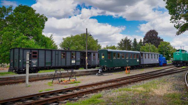 Mansfelder Bergwerksbahn - Bahnhof Benndorf