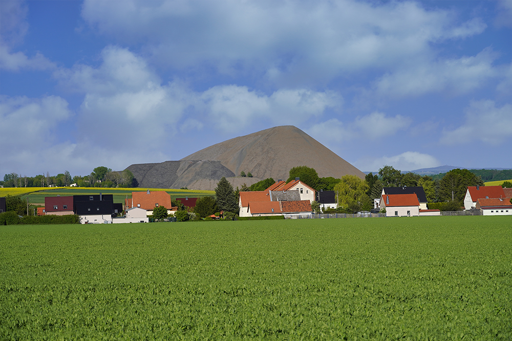 Pyramiden des Mansfelder Landes - Augsdorf - Otto Brosowski Schacht