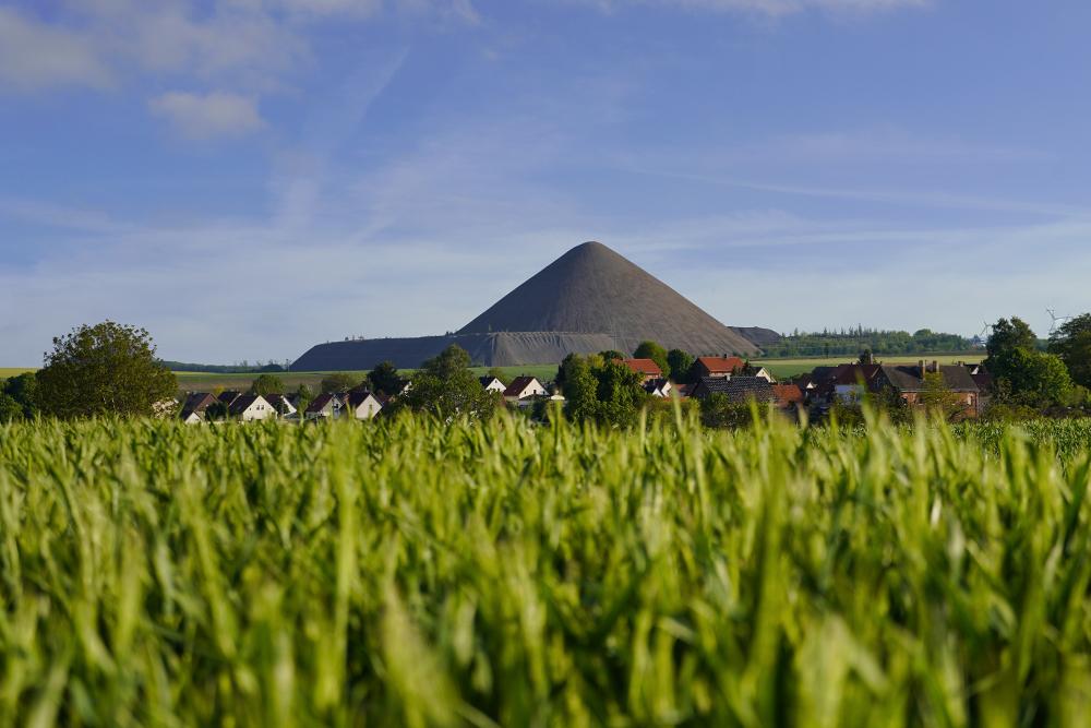 Pyramiden des Mansfelder Landes - Augsdorf - Ernst Thälmann Schacht