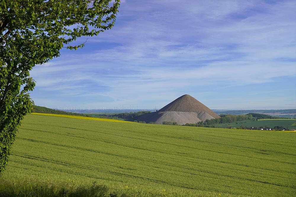 Pyramiden des Mansfelder Landes - Fortschrittschacht