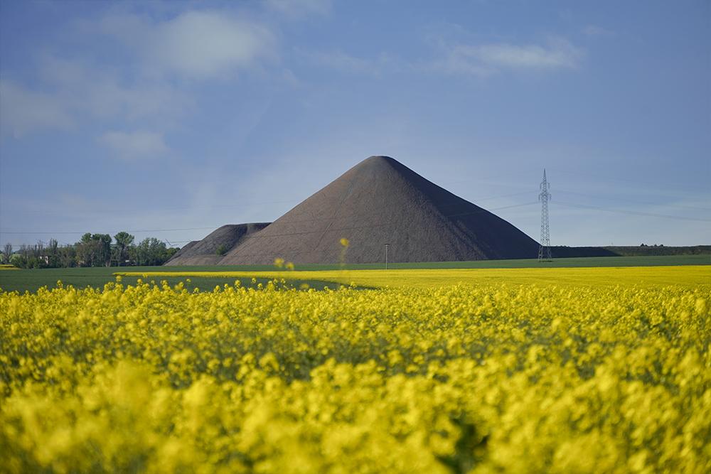 Pyramiden des Mansfelder Landes - Otto Brosowski Schacht