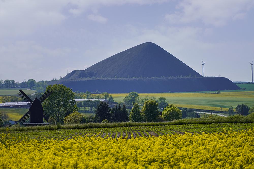 Pyramiden des Mansfelder Landes - Polleben - Otto Brosowski Schacht