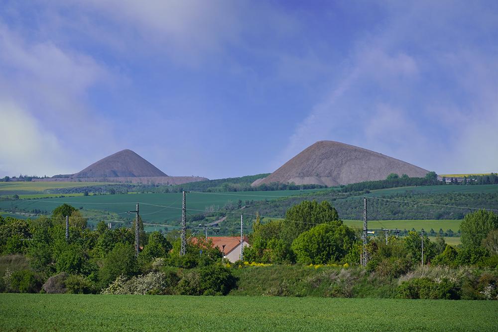 Pyramiden des Mansfelder Landes - Otto Brosowski Schacht und Ernst Thälmann Schacht