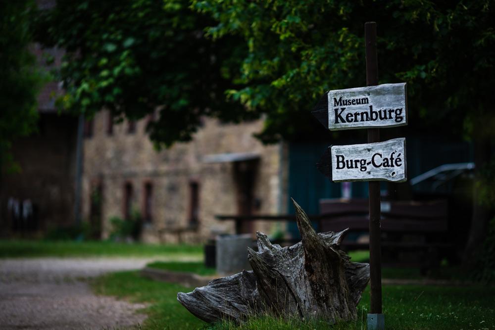 Burg und Schloss Allstedt (in der Nähe von Sangerhausen) - Burg-Café