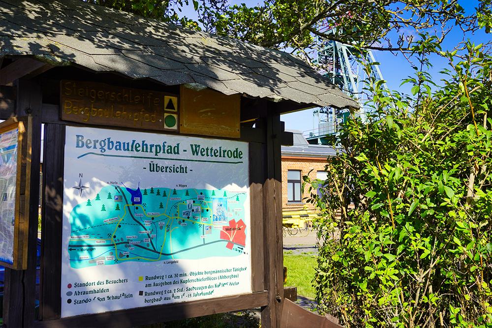 Sangerhausen - ErlebnisZentrum Röhrigschacht Wettelrode Bergbaulehrpfad