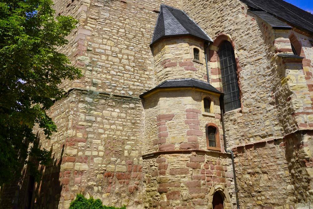 Sangerhausen - Jacobikirche Mauerwerk