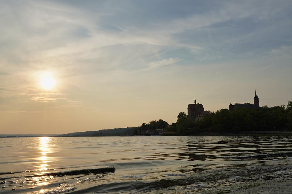 Seegebiet Mansfelder Land - Dorf und Schloss Seeburg am Süßen See