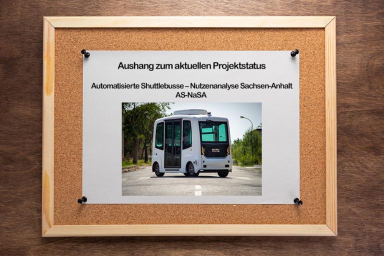 Shuttlebus Aushang ©EasyMile