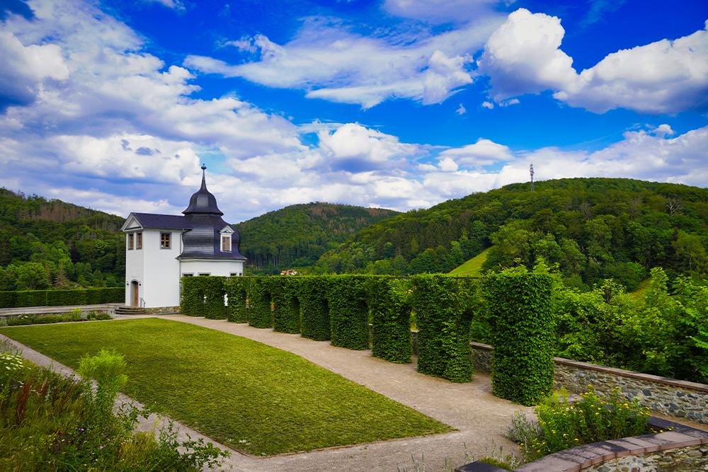 Stolberg (Harz) - Schlossgarten Schloss Stolberg