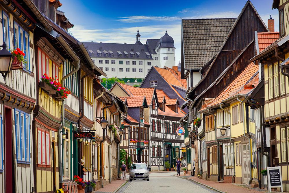 Stolberg (Harz) - Schlossansicht