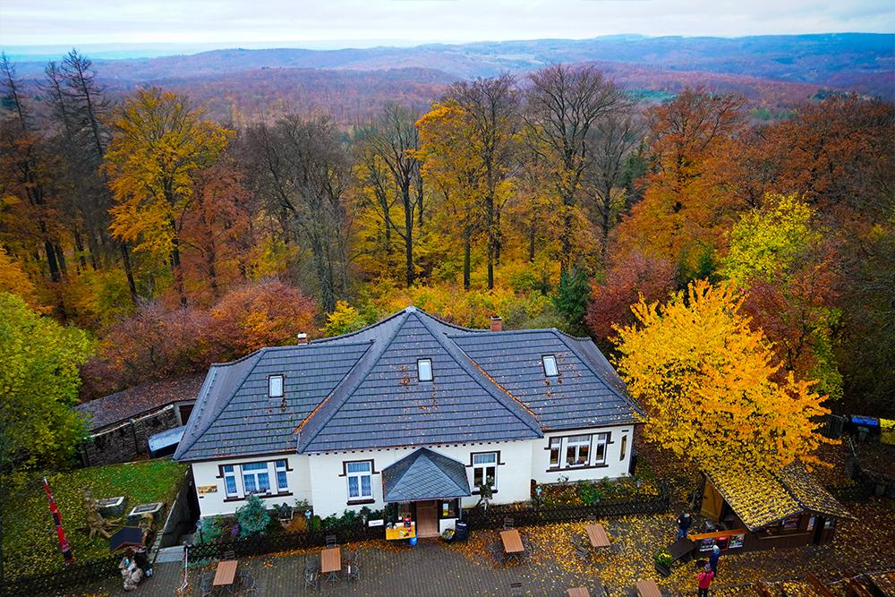Stolberg (Harz) - Josephskreuz auf dem Auerberg - Bergstüb'l Josephshöhe