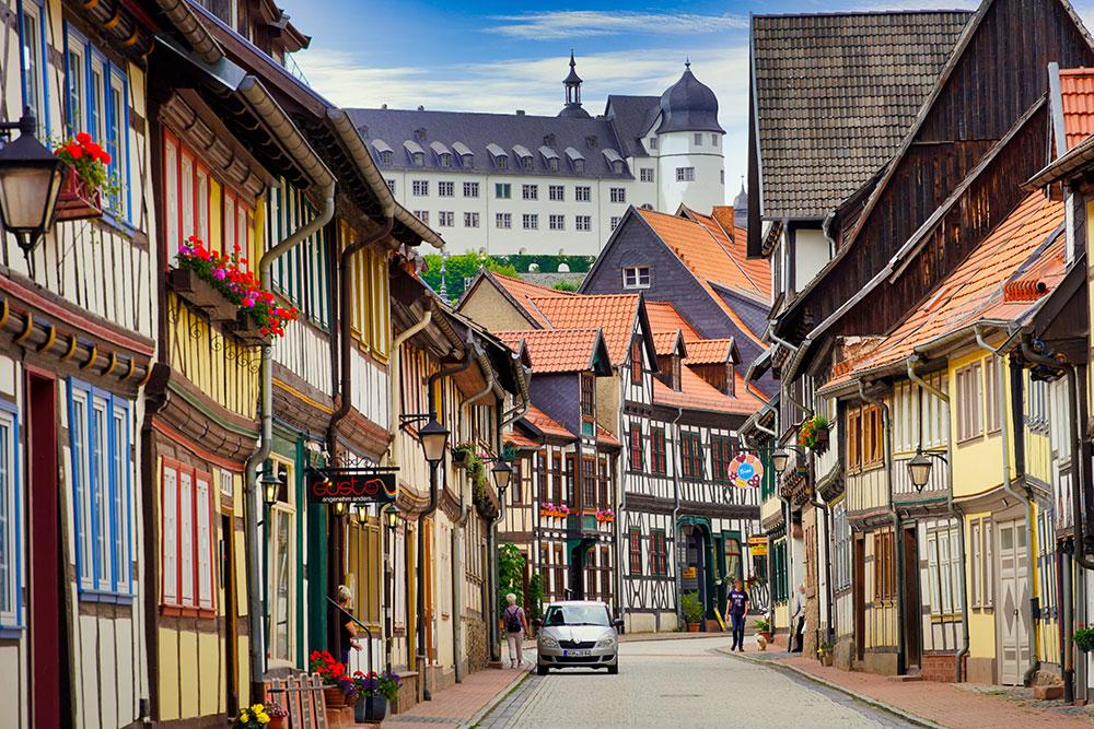 Stolberg (Harz) - Fachwerkstadt & Schloss Stolberg