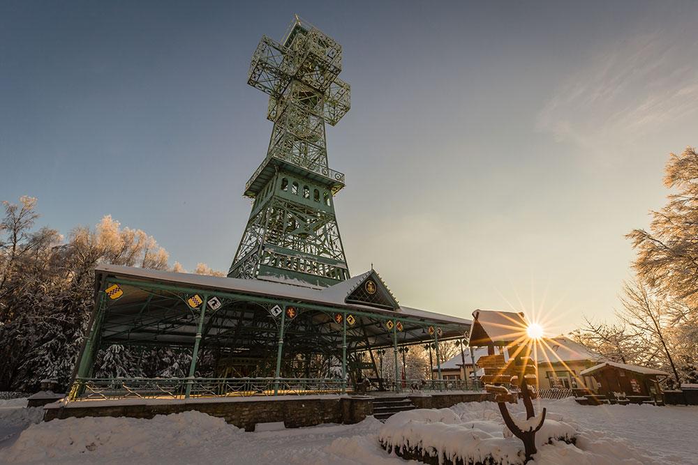 Südharz - Josephskreuz bei Stolberg (Harz) im Winter