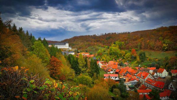 Südharz - Wanderung Stolberg (Harz) mit Hirschdenkmal Lutherbuche