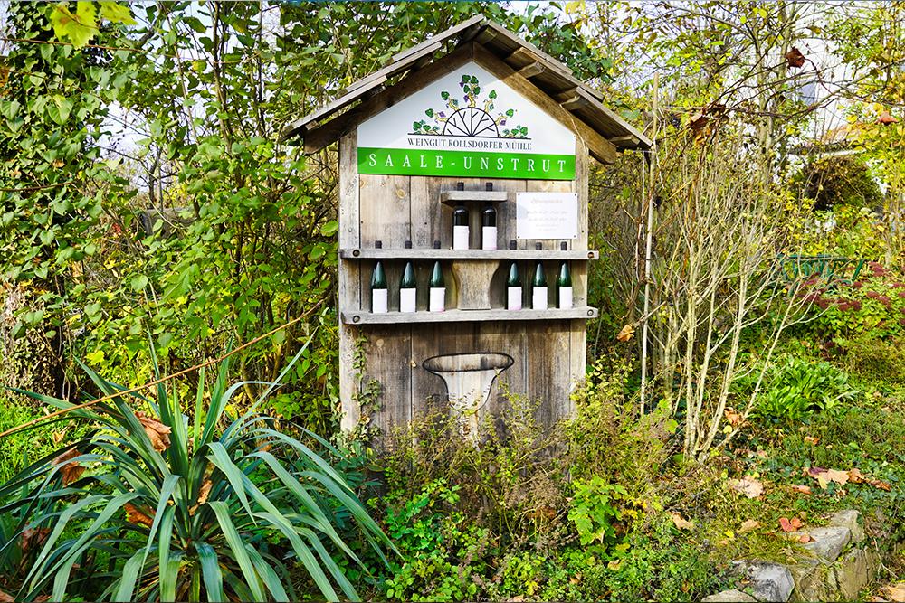 Weinstrasse Mansfelder Seen - Weingut Rollsdorfer Mühle