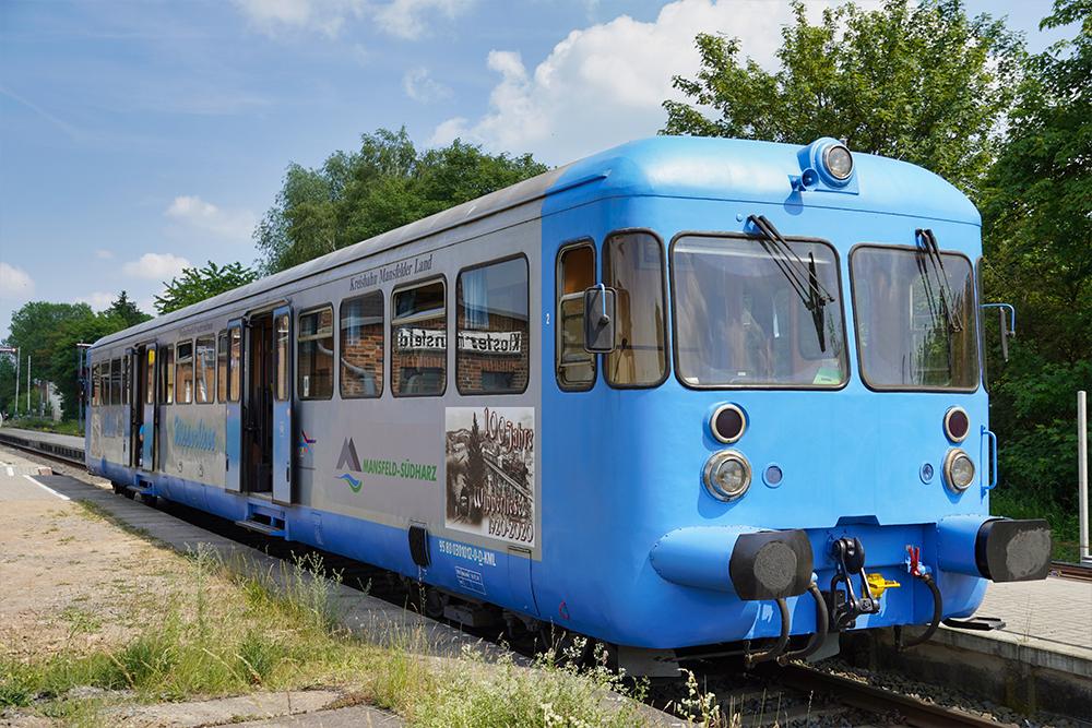 Wipperliese am Bahnhof Benndorf