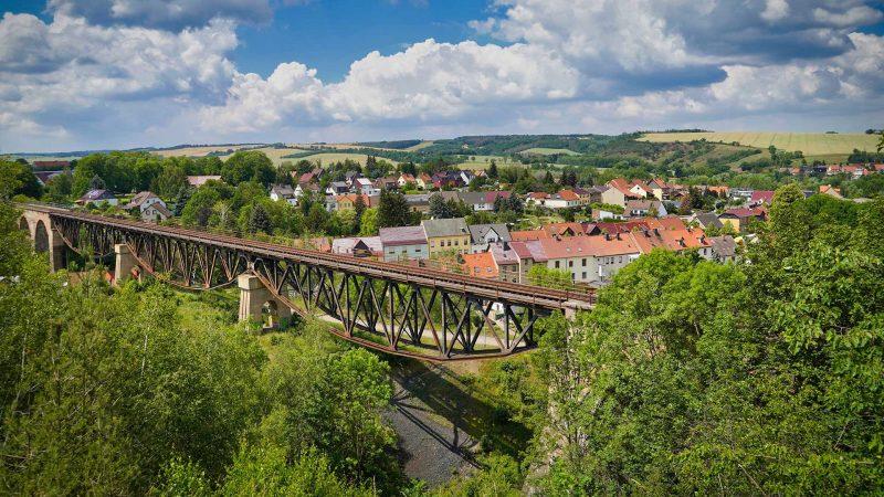 Mansfeld-Lutherstadt - Viadukt